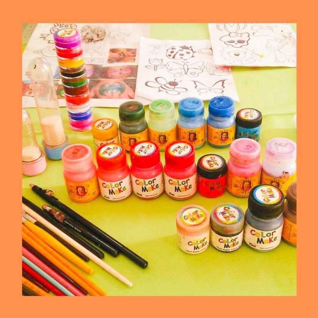 Monitor de Pintura Artística - Fábrica de Surpresas